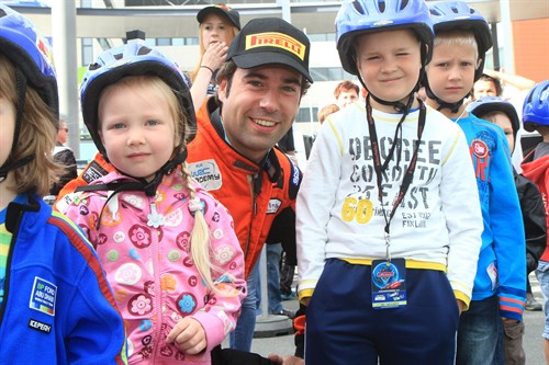 timo van der marel finland 2012 fia road safety with kids 500x333
