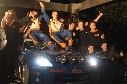 vd eijk podium hellendoorn rally 2013 500x333
