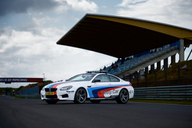 Persbericht - BMW Safety Car-credits Rob Blank