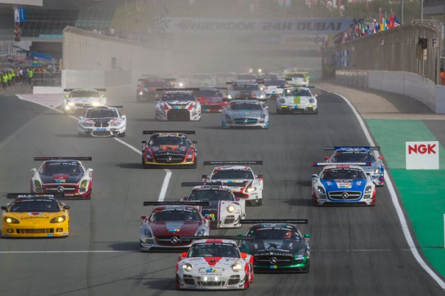 Start Hankook 24H DUBAI 2015