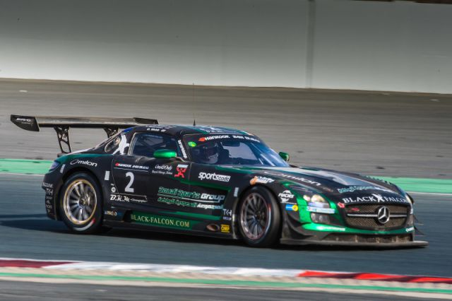 Winner Hankook 24H DUBAI 2015 Black Falcon nr2