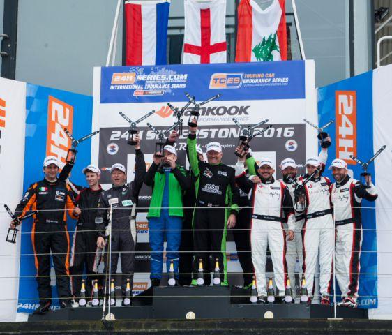 Overall podium 24H SILVERSTONE