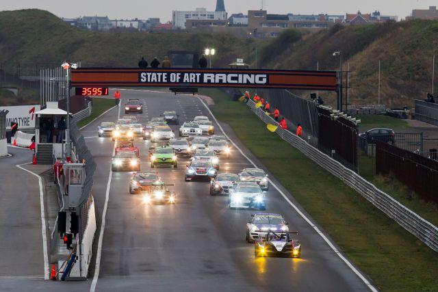 Nieuwjaarsrace race start