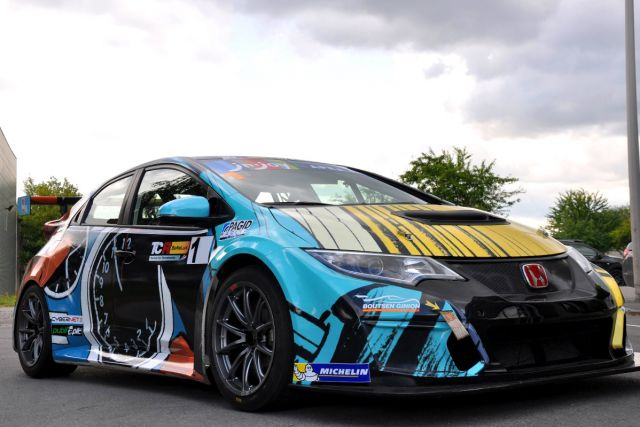 CivicTCR Art Car