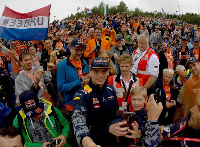 Selfie-Max-GP-Oostenrijk