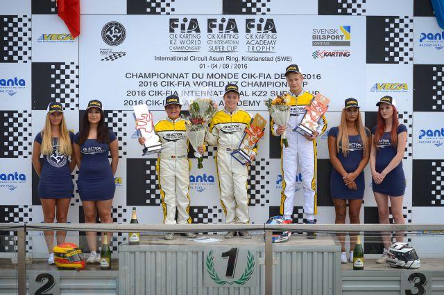 podium race
