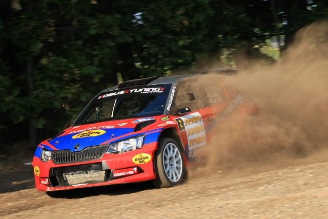 Eurol R5 Rally Challenge GTC Rally Hermen Kobus Erik de Wild Skoda 170709