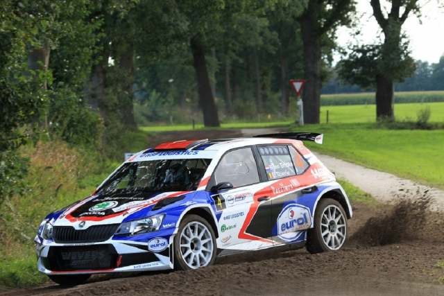 Eurol R5 Rally Challenge Hellendoorn Bernhard ten Brinke en Davy Thiery Skoda 170916