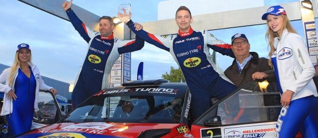 Eurol R5 Rally Challenge Hellendoorn Hermen Kobus viert de titel in de Eurol R5 Rally Challenge 2017 170916