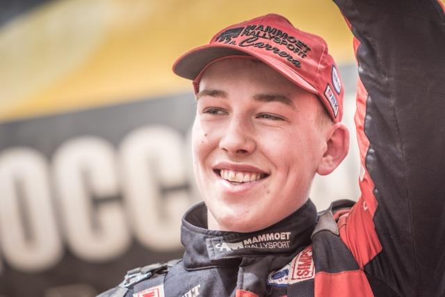 Mitchel van den Brink jongste deelnemer Le Dakar?