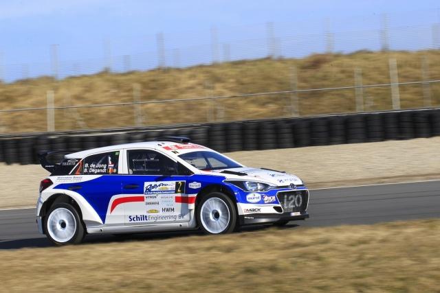 Eurol R5 Rally Challenge Bob de Jong met Hyundai i20 R5