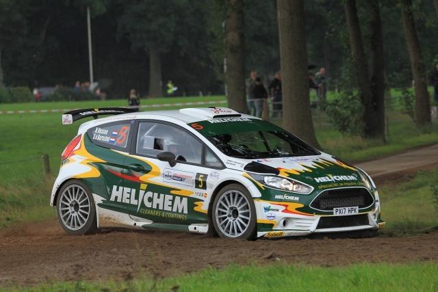 Eurol R5 Rally Challenge Henk Vossen met Ford Fiesta R5 180303