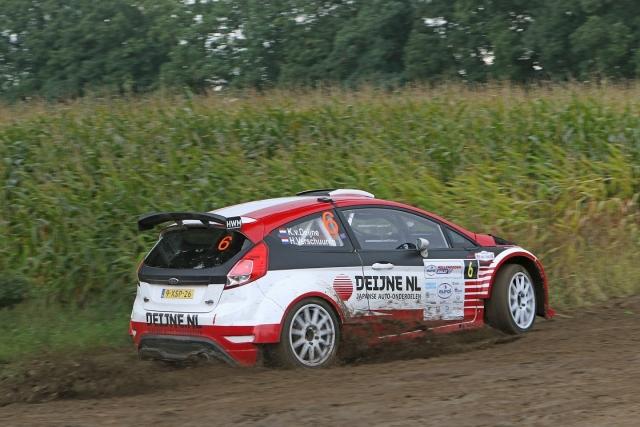Eurol R5 Rally Challenge Kevin van Deijne met Ford Fiesta R5 180303
