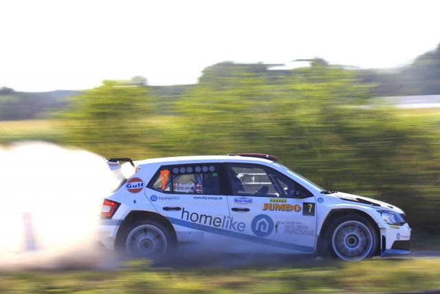 Eurol R5 Rally Challenge GTC Rally 2018 Esben Hegelund