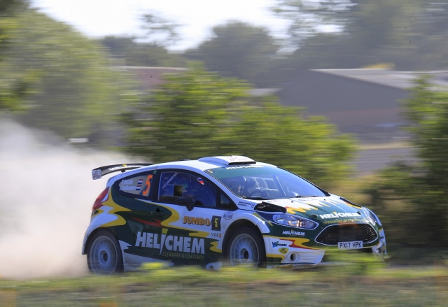 Eurol R5 Rally Challenge GTC Rally 2018 Henk Vossen