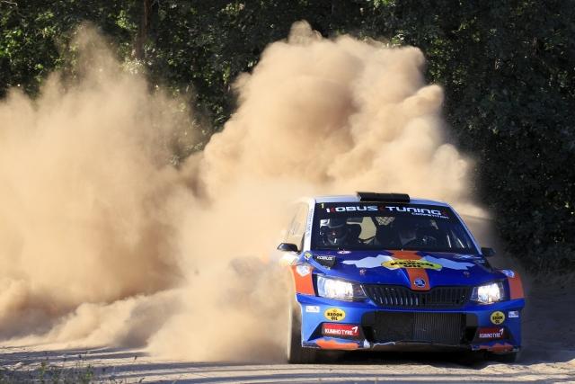Eurol R5 Rally Challenge GTC Rally 2018 Hermen Kobus