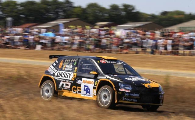 Eurol R5 Rally Challenge GTC Rally 2018 Melissa Debackere