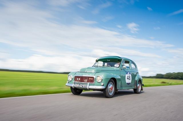 Green Volvo