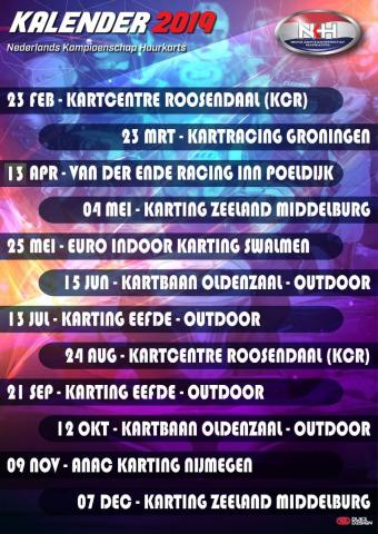 Kalender NK Huurkart
