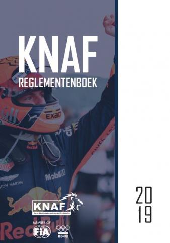 Voorkant KNAF Reglementenboek 2019