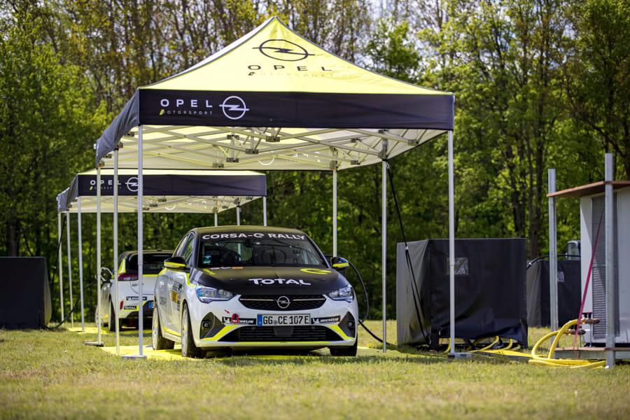 opel corsa e rally in actie tijdens de gtc rally in achtmaal 02 Opel Corsa e Rally 515746