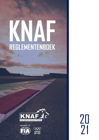 Voorkant KNAF Reglementenboek