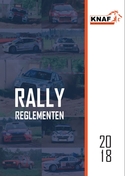 Reglement Rally 2018