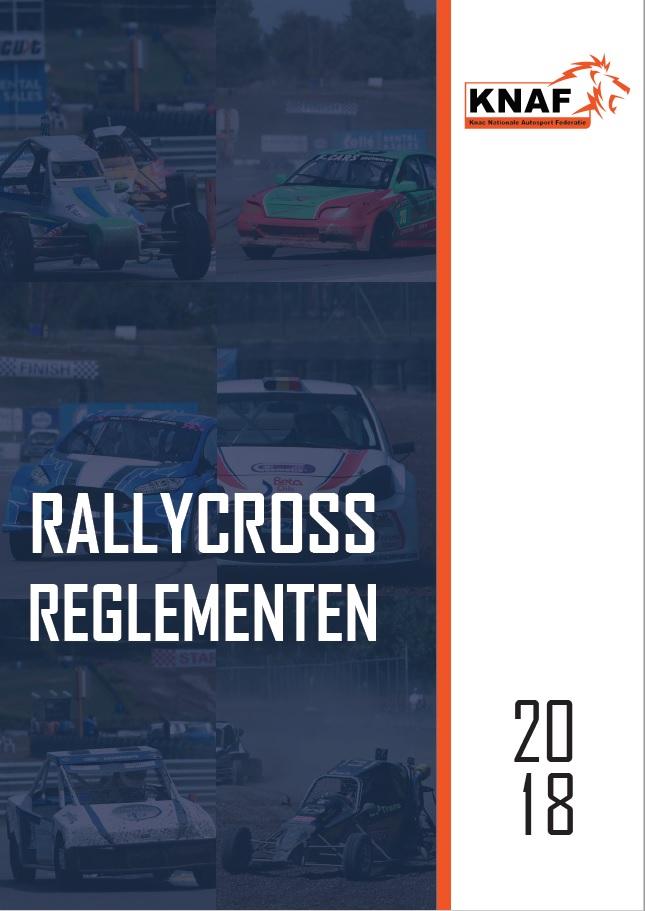 Reglement Rallycross 2018