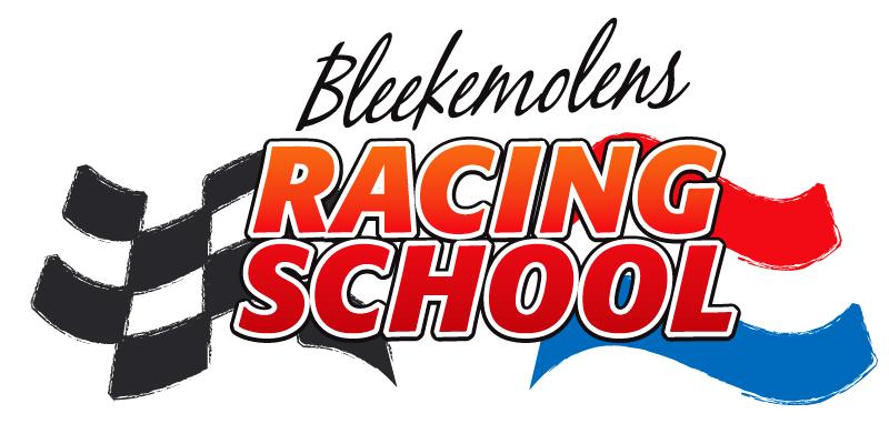 logo Racingschool lowress zwarte letters